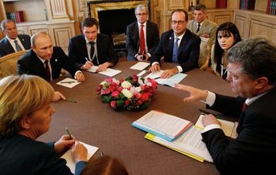 Порошенко и Путин договорились о применении беспилотников на Донбассе