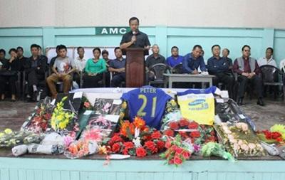 23-летний футболист умер от травмы, полученной во время празднования гола
