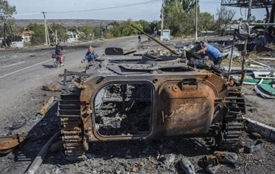 Жертвами  иловайского котла  стали около тысячи силовиков – ВСК