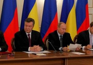 Снова и снова: Янукович надеется продолжить газовый диалог с Путиным в ноябре