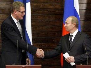 Путин и премьер Финляндии попробовали хвойные таблетки от кашля и договорились покататься на поезде