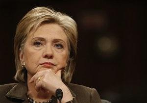 Визит Хиллари Клинтон: суд запретил пикетировать АП и Раду