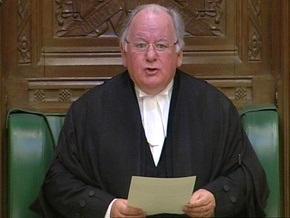 Спикер британского парламента уйдет в отставку из-за скандала с расходованием госсредств