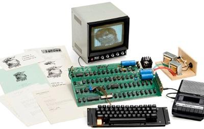 Один з перших комп ютерів Apple продали майже за мільйон доларів
