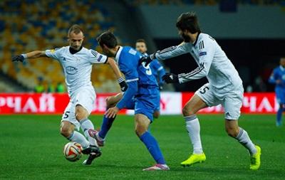 Днепр провалил домашнюю игру с Карабахом в Лиге Европы
