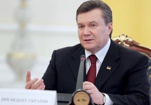 Янукович: Украина и ее войско обречены на успех