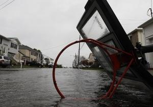 Ураган Сэнди парализовал работу множества интернет-СМИ