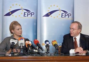 Тимошенко официально пригласили в Брюссель