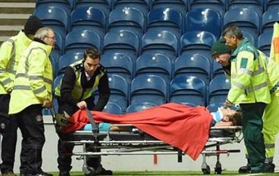 Голкипер Рейнджерс попал в больницу после удара головой о штангу