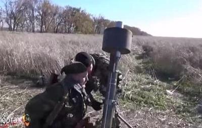 Ноу-хау в  ополчении : сепаратисты испытали миномет с глушителем