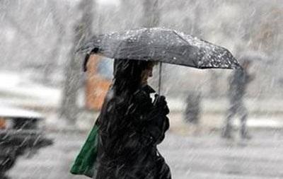 В Украине сегодня ожидаются дожди и мокрый снег