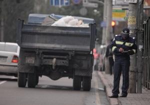 Киевские власти намерены запретить грузовикам въезд в город в дневное время суток