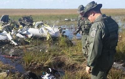 Обломки самолета типа King200, вторгшегося в воздушное пространство  Венесуэлы