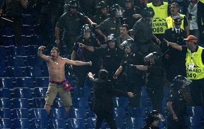 Десятки фанатов ЦСКА незаконно пробрались на матч Лиги чемпионов в Англии