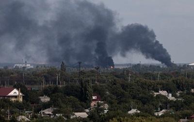 Бои в Донецке