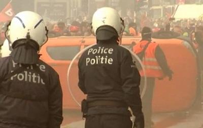В Брюсселе продолжаются столкновения с полицией