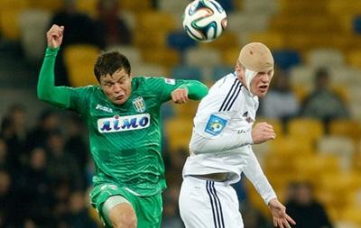 Динамо вдевятером сыграло вничью с Карпатами