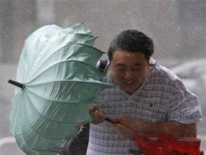 На юг Китая обрушился тропический шторм