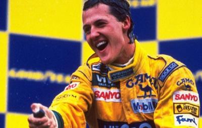 Чемпіонський ювілей: Рівно 20 років тому Шумахер вперше став чемпіоном Формули-1