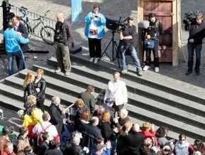 В Брюсселе установили мировой рекорд по длине очереди в туалет