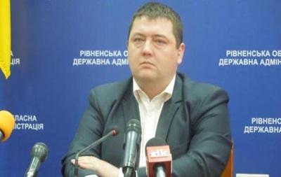 Губернатор Рівненської області подав у відставку