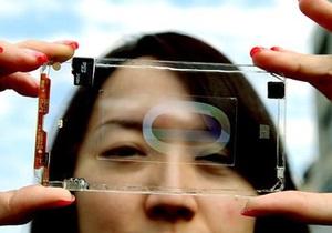 Прозрачный телефон - Тайваньская компания сделала полностью прозрачный смартфон