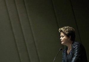 Президент Бразилии объявила о реформах на фоне протестов