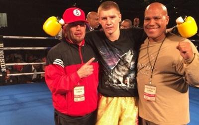 Украинский боксер по прозвищу  Волк  нокаутировал американца (видео)