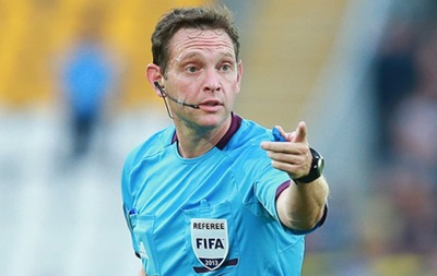 Украинский арбитр будет судить матч отбора на Евро-2016