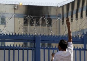 Фотогалерея: Без права на помилование. Из-за пожара в чилийской тюрьме погибли 83 заключенных