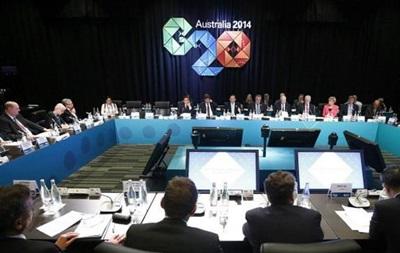 G20 в Брисбене: реформа экономики и кризис в Украине