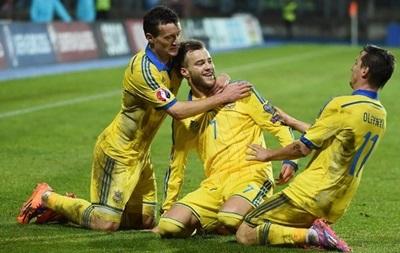 Онлайн матчу Люксембург-Україна: хет-трик Ярмоленка - 0:3