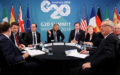 В Брисбене проходит закрытая встреча лидеров США и ЕС по Украине