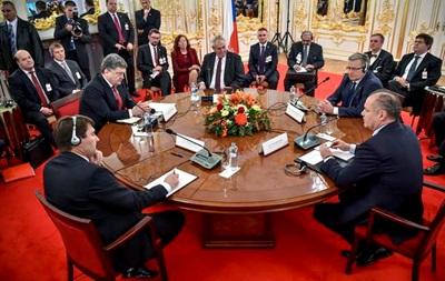 В Братиславе началось заседание Вышеградской четверки и Украины