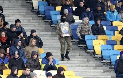 Фотогалерея: Як фанати за збірну України на Олімпійському вболівали