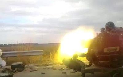 У мережі з явилося відео бою на блокпосту під Дебальцевим