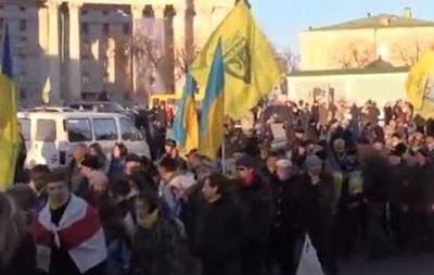 Годовщина Майдана: в Киеве проходит Марш достоинства