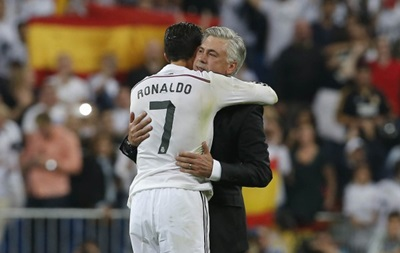 Тренер Реала: Золотий м яч отримає Кріштіану Роналду