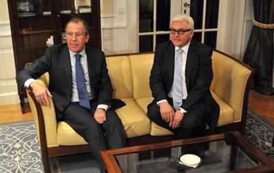 Лавров і Штайнмайєр обговорили ситуацію в Україні