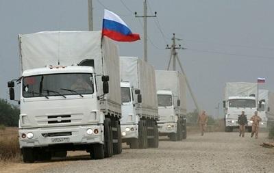 Стало відомо, коли восьмий гумконвой з Росії вирушить на Донбас