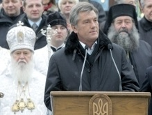 Ющенко намерен поднять вопрос единства украинских православных церквей