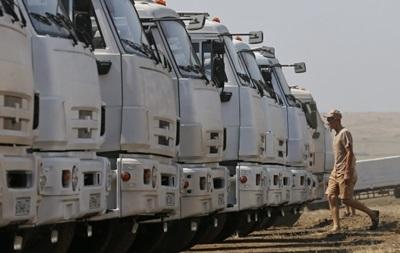 Восьмой гумконвой России двинулся в направлении Донбасса