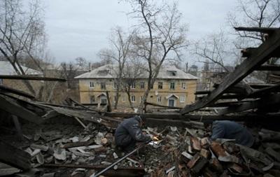 Обстрелы Донецка и Попасной. Карта АТО за 30 ноября