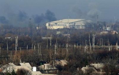 Прес-центр АТО: В районі аеропорту Донецька припинено вогонь