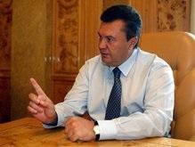 Янукович: Министр внутренних дел должен быть уравновешенным