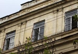 Милиция возбудила уголовное дело в связи с обвалом в центре Львова