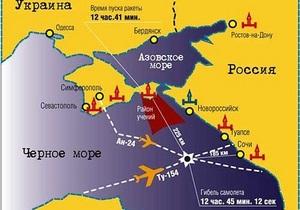 Суд счел украинских военных невиновными в крушении российского Ту-154