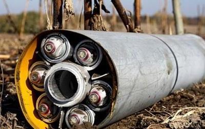В ОБСЕ подтвердили использование кассетных бомб на Донбассе