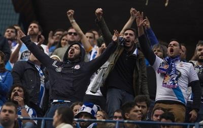 В Іспанії близько 100 фанатам заборонили дивитися футбол на стадіонах