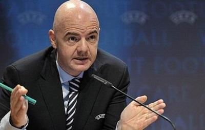 Инфантино: UEFA откроет дело в случае нарушения решения о футболе в Крыму